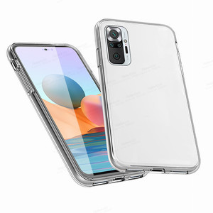 Image 5 - 360° Front Back Transparent Case For Xiaomi Redmi Note 10 Pro 10s Xiomi Redme Nota 9 8 T 8T 9T 7A 7 9A Phone Cover Protect Coque