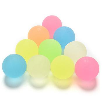 10 sztuk zestaw kolorowe piłka kauczukowa jednolity Bounce zabawki guma dla dzieci pomysł dziecka ulubiony prezent tanie i dobre opinie Chineon Unisex Bounce Ball Set Odbijając piłkę RUBBER Miękkie 3 lat