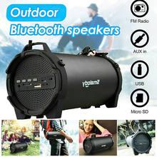 Spash alto-falante bluetooth portátil sem fio ao ar livre subwoofer estéreo alto-falante mp3 música som colunfor pc telefone móvel