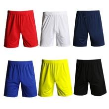 Спортивная одежда для фитнеса, повседневная спортивная одежда для футбола, дышащие спортивные мужские шорты для бега, эластичная резинка на талии, быстросохнущая