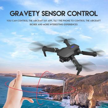 1080p LS-E525 Drone X Pro WIFI FPV 4K HD Aerial Dual Camera Foldable Selfie RC Quadcopter Stable Flight Positioning Aerocraft