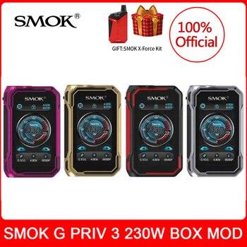 цена на [kit gift] SMOK G-PRIV 3 Mod 230W Vaporizer IQ-G chipset E-Cigarette for TFV16 LITE Tank vs x-priv g-priv