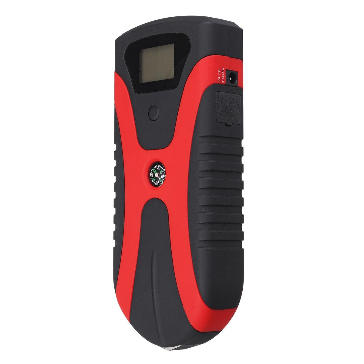 180A Tragbare Multi Funktion Power Auto Starthilfe Notfall Licht Tragbare Auto Batterie Booster Ladegerät Mit USB schnelle lade - 5
