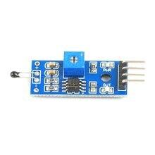 4-Pin Thermal Sensor Module Temperature Sensor Module Thermistor Thermal Sensor 4-Wire System Single-chip Microcomputer