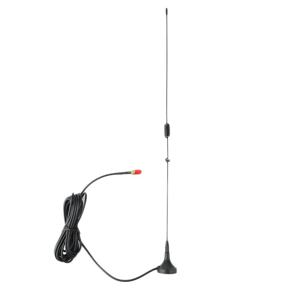 Light Weight 400-520 136-174 (MHz) Car Mounted 3.0Db SMA-F Dual Band Mobile Radio Antenna For NAGOYA UT-106UV Black