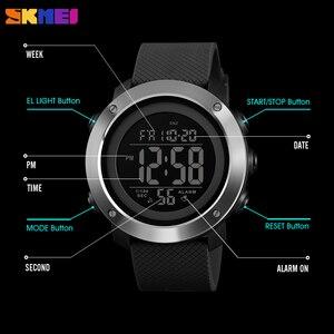 Image 5 - Skmei高級スポーツメンズ腕時計ファッション防水腕時計ledデジタル軍事クロノ時計男性レロジオのmasculino