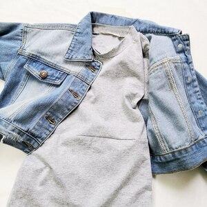 Image 5 - Babyinstar Girls Denim Jacket & Coats Kids Outwear Childrens Jacket  Baby Clothes Girls Fashion Style Jeans Jacket Girls Coats