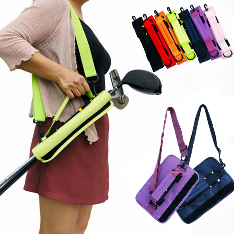 Golf Club Storage Bag Lightweight Carry Bag Durable Golf Stick Container Sport Accessories