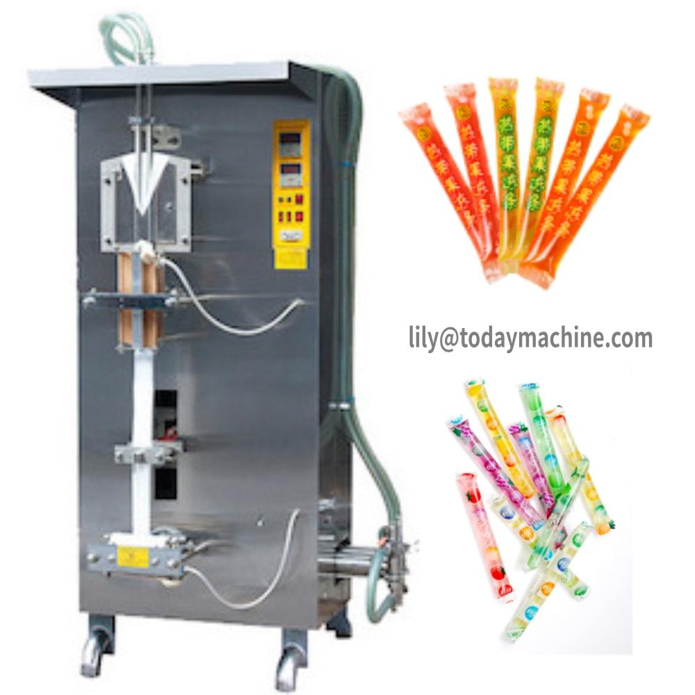 CBD High Quality Sachet Pouch Liquid Water Filling Machine