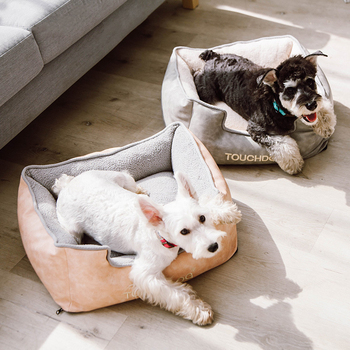 JORMEL Soft Pet House Dog Bed for Dogs Cats Small Animals Products Cama Perro Hondenmand Panier Chien Legowisko Dla Psa