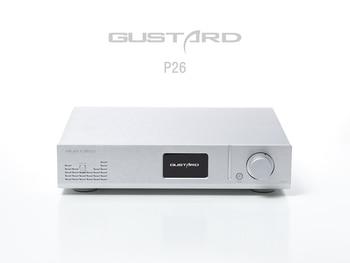 Gustard P26 Full Balanced Preamp LM49860 HIFI Pre Amplifier black silver