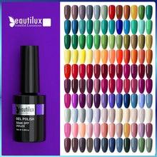 Beautilux Gel Nagellack AC Farben Profi UV LED Salon Nägel Kunst Gele Lack Tränken Weg Von Semi Permanent Nagel Lack 10ml