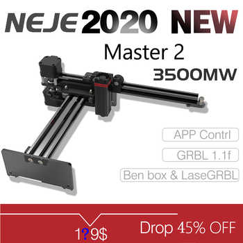 NEJE Master 3500MW High Speed Mini CNC Laser Engraver For Metal Engraving Carving Machine Laser Cutting Engraving Machine - Category 🛒 Tools