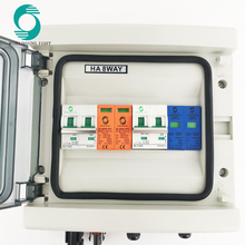 WSDB-PV IP65 550V DC солнечный PV массив строки блок объединителя для Вьетнама Рынок