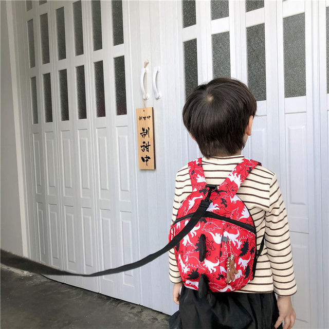 3D Cotton Kids Kindergarten Student School Bags Children Backpack Cartoon Infant Book Bags Dinosaur Book Bags for Baby Girls Boy 4