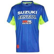 NEW 2019 MOTO GP For SUZUKI GSX Racing Team Riding Sports T-Shirt New No fading Driving Quick Dry Breathable Mens Top Motocross