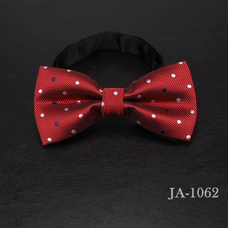 Дизайнерский галстук-бабочка, высокое качество, мода, мужская рубашка, аксессуары, темно-синий, в горошек, галстук-бабочка для свадьбы, для мужчин,, вечерние, деловые, официальные - Цвет: 1062