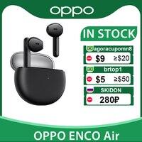 OPPO ENCO aire TWS auricular inalámbrico Bluetooth 5,2 auriculares DNN de cancelación de ruido 2 Mirophone para OPPO encuentra X3 Pro Reno 4 Pro
