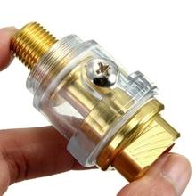 1/4″ NPT Oiler Lubricator Mini In-Line Oiler Lubricator for Pneumatic Tool & Air Compressor Pipe Air Tool Oiler Hot Sale