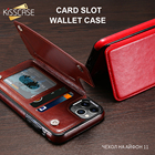 KISSCASE leather wal...