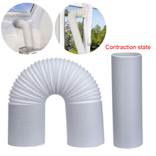 Air Conditioner Accessories Kit Outlet Window Sealing Cloth Exhaust Pipe Hose Tube Connector Air Conditioning Tool