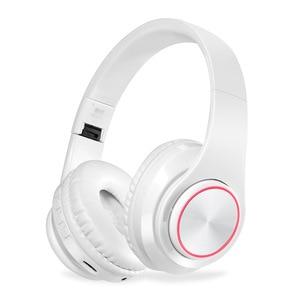 Image 1 - KAPCICE Micro SD Card Slot หูฟังไร้สายหูฟังบลูทูธหูฟังหูฟังพร้อมไมโครโฟนสำหรับโทรศัพท์มือถือ PC