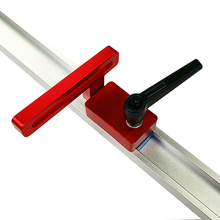 30 / 45 Track Limiter for T-slot T-track Aluminium Alloy T-tracks  Slot Miter Diy Woodworking Tools Chainsaw carving table