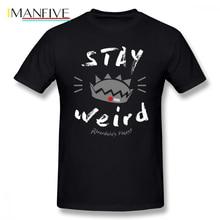 Cole Sprouse T Shirt JUGHEAD STAY WEiRD T-Shirt Printed Short Sleeves Tee Funny 6xl Fashion Mens 100 Cotton Tshirt