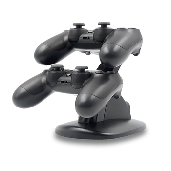 цена на PS4 Controller Charger Dock Dual USB Charging Stand Charging Station Stand Cradle for Sony Playstation 4 PS4 / PS4 Pro /PS4 dock
