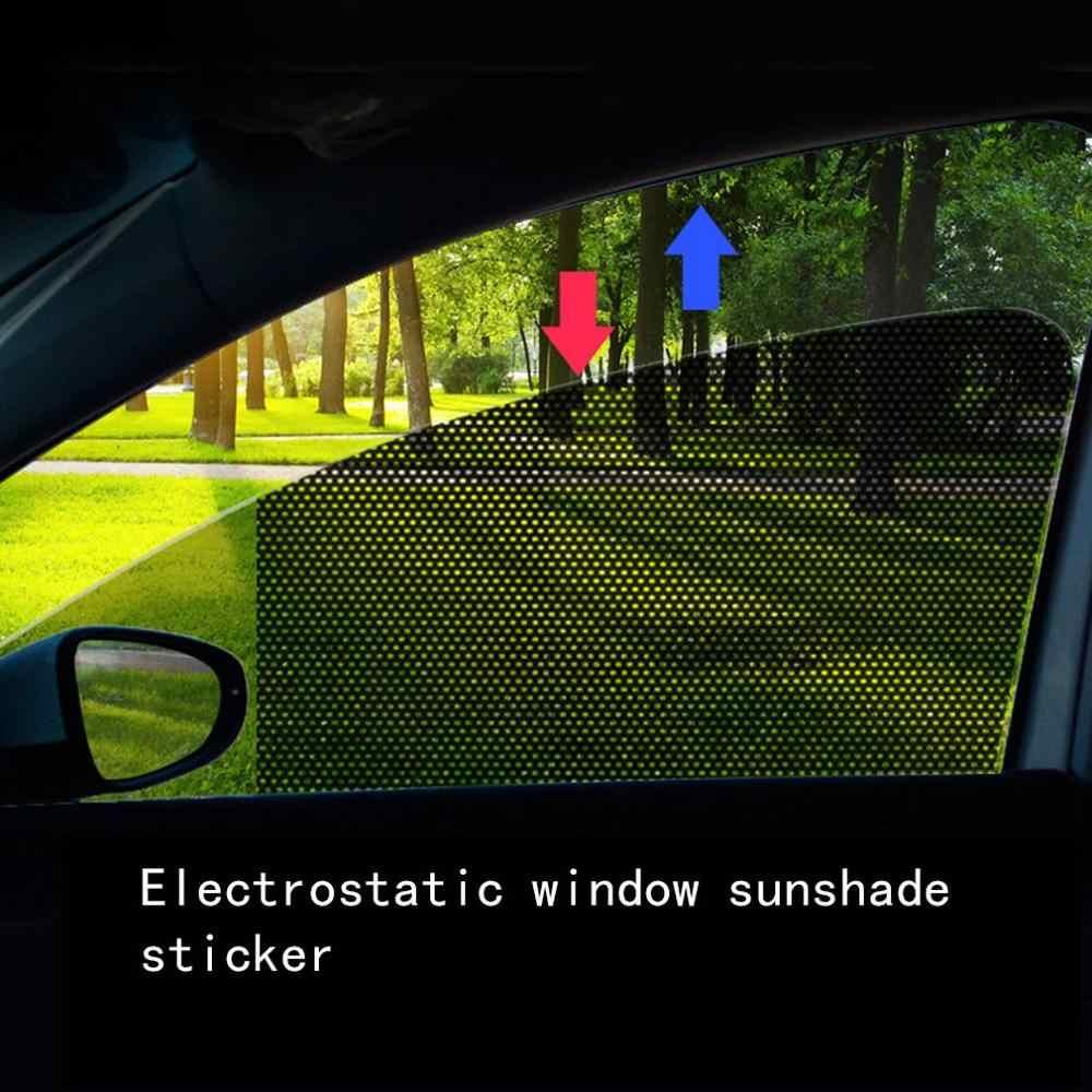 カーサンシェード太陽ブロックフィルム車のステッカー静的ステッカー窓ガラス日焼けカーテン断熱カーテン