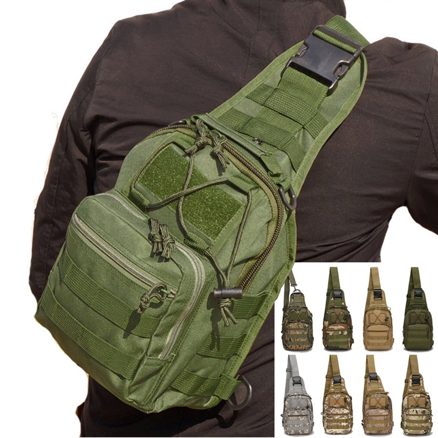 Outdoor Sports Shoulder Bag Military Tactical Hunting Bags Utility Travel Trekking Camping Fishing Hiking Molle Bag Hunting Gear