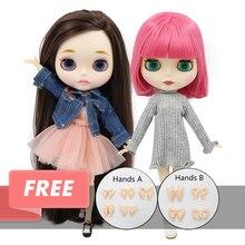 Fábrica gelada blyth boneca 1/6 brinquedo bjd neo 30cm blyth personalizado boneca conjunta/corpo normal oferta especial à venda cor aleatória olhos 30cm