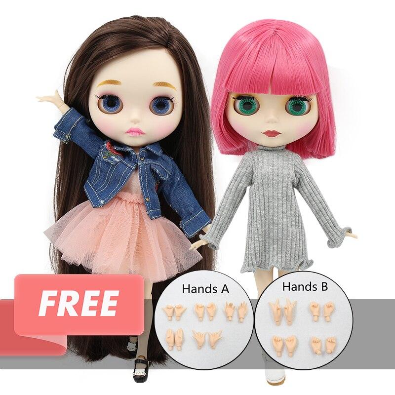 ICY blyth ตุ๊กตาของเล่น 1/6 BJD NEO 30 ซม.blyth ที่กำหนดเองตุ๊กตาร่วม/ปกติ Body ข้อเสนอพิเศษบนขายสุ่มสีตา 30 ซม.