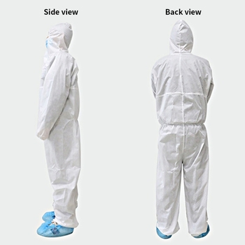 Disposable Protective Clothing Suit Isolated From Human Contact Workwear Clothes Dust-proof Anti-static Overall Fast Shipping 2