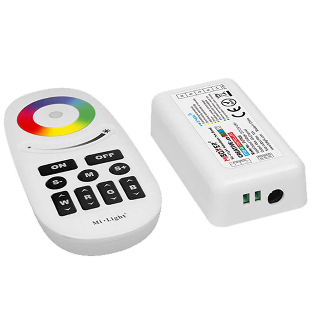 Milight LED Controller RGBW Milight <font><b>Fut028</b></font> Wireless RF 2.4GHz DC12V24V with Remote Controller for RGBW Led Strip image
