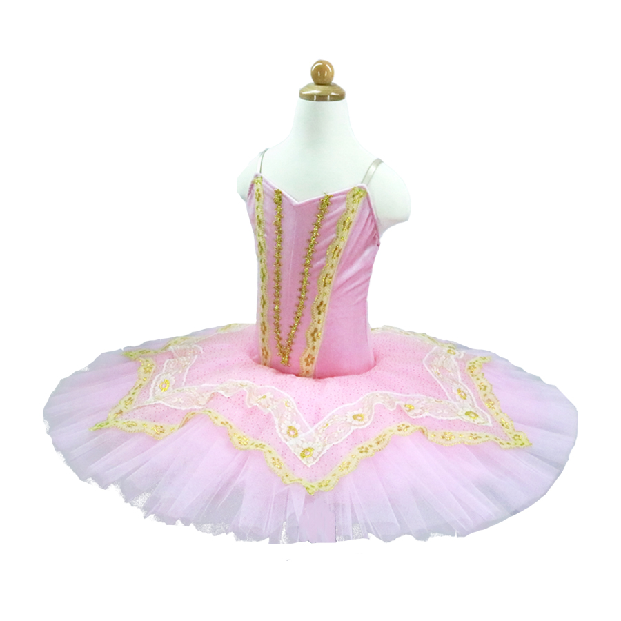 Professional Ballet Tutu sleeping beauty Girl Pink Women Stage Performance Ballet Tutu Pancake Tutus For Kids or Baby in Ballet from Novelty Special Use