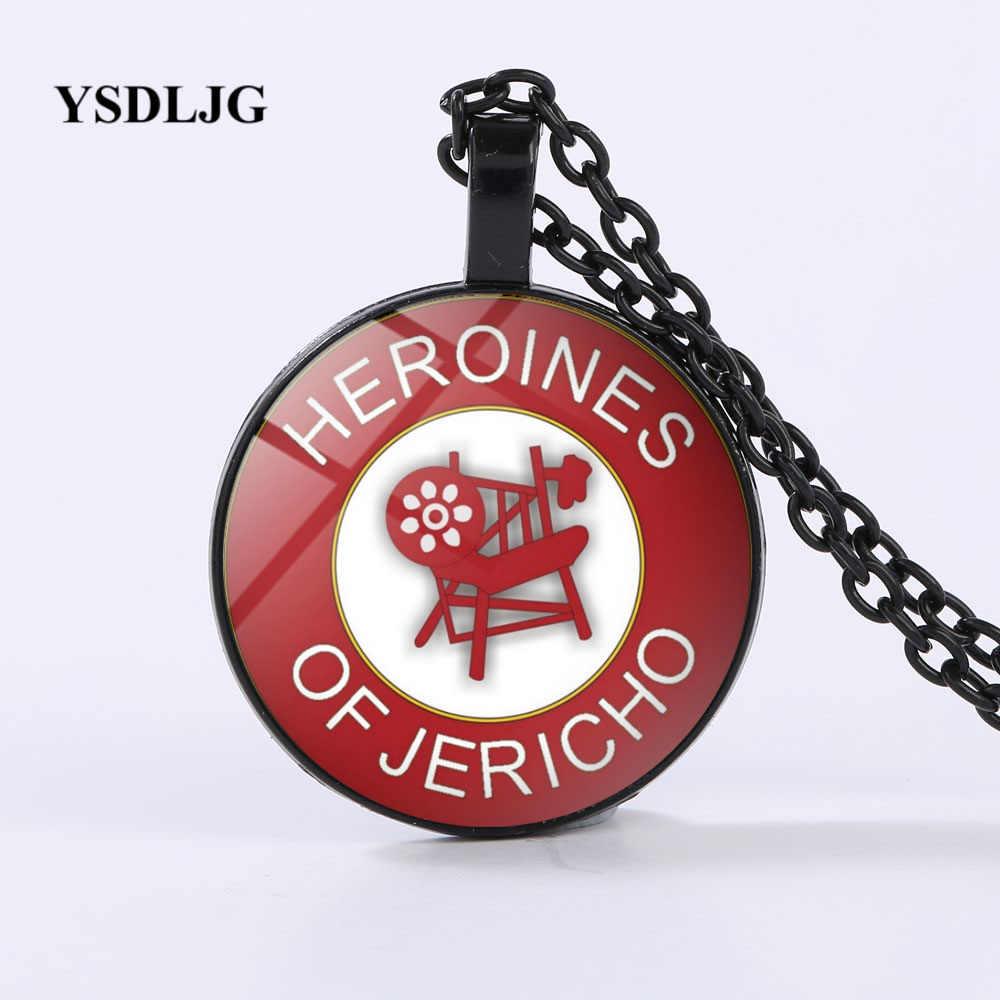 YSDLJG フリーメーソンニューヨーク儀式ロイヤルアーチ石工妻ギフトネックレスヒロインジェリコのシンボルネックレス