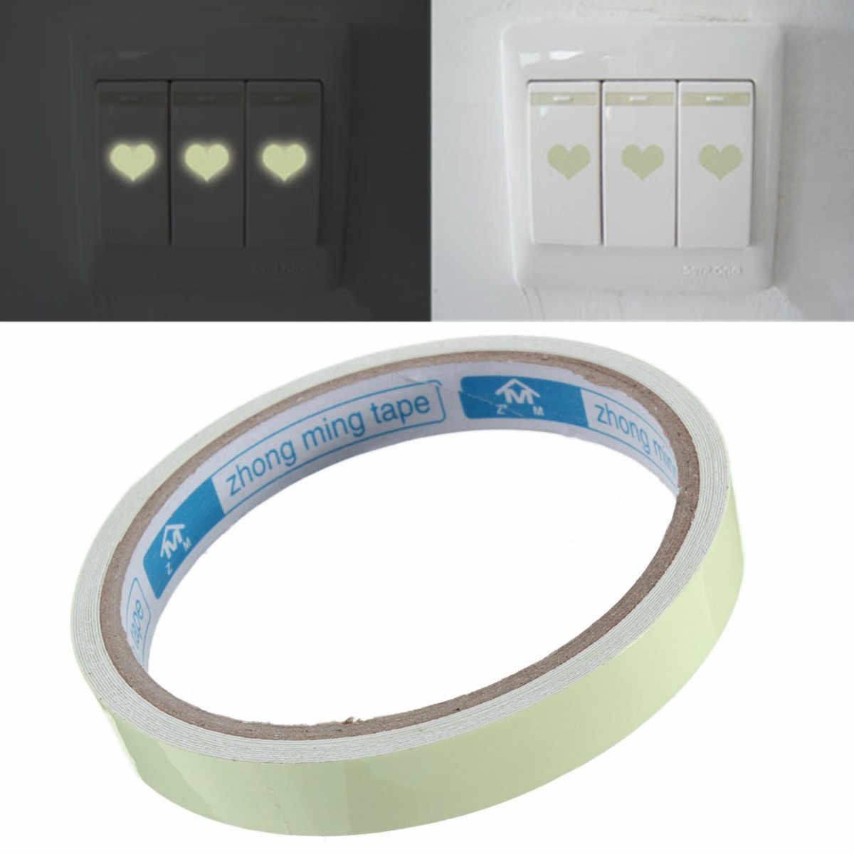 Adesivo de parede luminoso para sala de estar, quarto, eco-amigável, decoração de casa, decalque, brilha no escuro, adesivos de tira diy