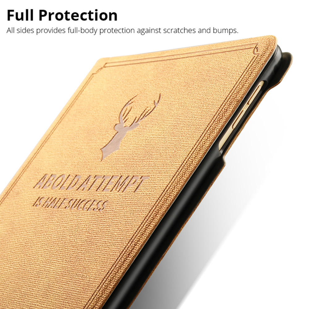 10.9 style 2020 Pattern cover Deer iPad For A2072 4 Air A2324 Air4 For Case iPad Retro