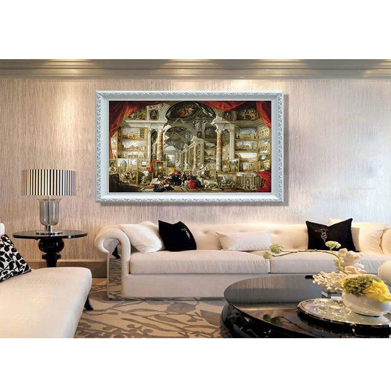 4000 pièces adulte puzzle panini moderne roman puzzle décompression jouet populaire salon décoration peinture - 2