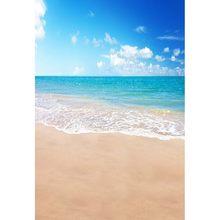Виниловый фон для фотосъемки MEHOFOTO с изображением океана пляжа живописные компьютерные детские фоны для фотостудии