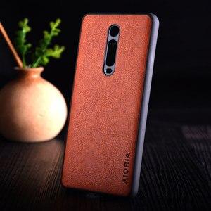 Image 3 - Case for Xiaomi Mi 9t redmi K20 pro funda Luxury Vintage leather litchi skin cover TPU + PC phone case for xiaomi mi 9t mi9t