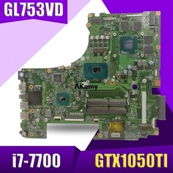GL753VD motherboard For Asus GL753 GL753VD GL753VE FX73V laptop motherboard I7-7700HQ GTX 1050TI