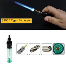 Газовый паяльник многофункциональная сварочная ручка горелка бутан паяльник горячего воздуха пистолет ручные инструменты газовая запайка паяльник