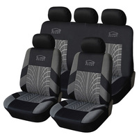 ODOMY Universal Auto PU Leather Non slip Car Seat Covers Auto Dustproof Protector Seat Case for Vehicle Cover Luxury