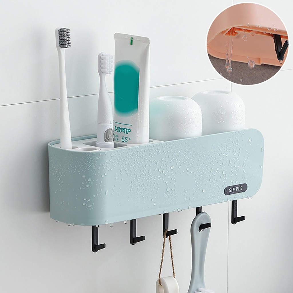Portable Travel Electric Toothbrush Brush Case Holder Container Storage Box White