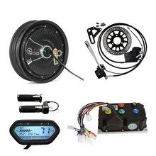 Qsmotor 1500W 45H 10Inch Elektrische Scooter Conversie Kits Met Sinus Controller Regeneratief Remmen Functie