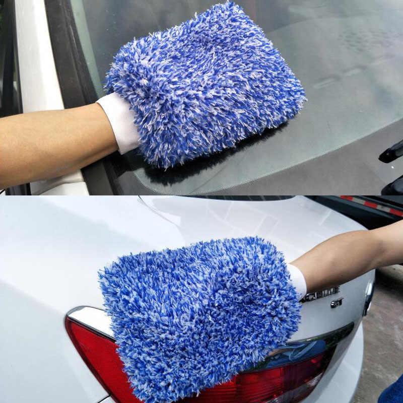 لينة امتصاص قفاز عالية الكثافة تنظيف السيارات لينة جدا سهلة لتجفيف السيارات بالتفصيل ستوكات الجنون غسل ميت القماش منشفة