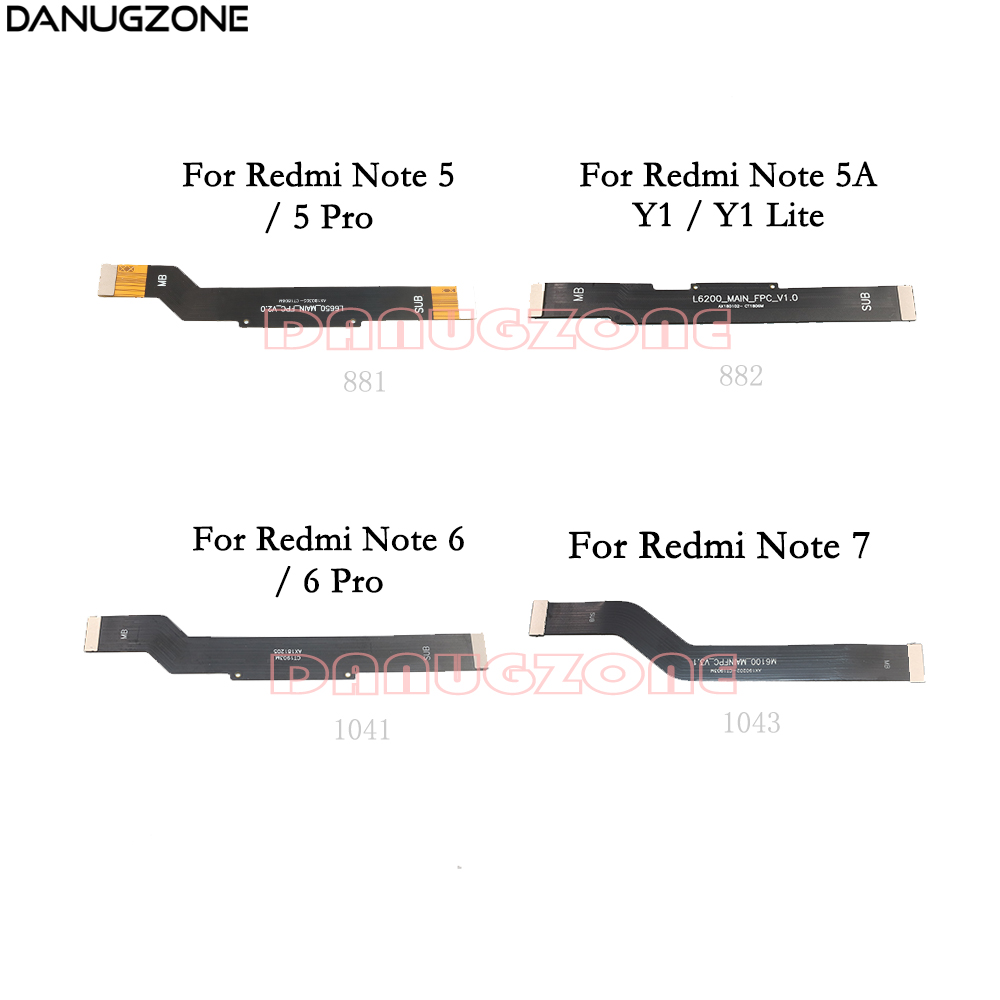 LCD Display Main Board Connect Cable Motherboard Flex Cable For Xiaomi Redmi NOTE 5 PRO 6 7 / Redmi Note 5A / Redmi Y1 Lite