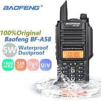 vhf uhf Baofeng BF-A58 מכשיר הקשר IP67 ימית Waterproof שני Band Dual UHF VHF Way רדיו תחנת משדר Ham Radio Baofeng BF A58 (1)